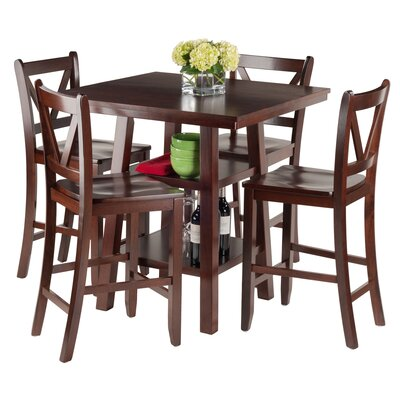 Orlando 5 Piece Pub Table Set
