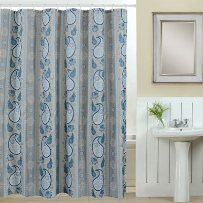 Spa 13 Piece Printed Shower Curtain Set