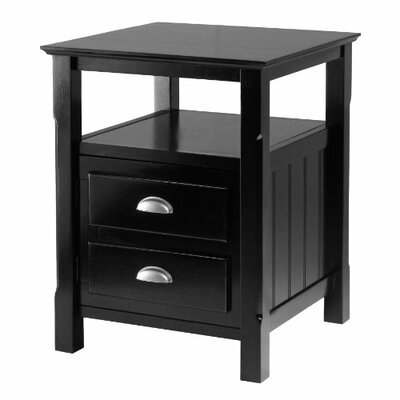Timber 2 Drawer Nightstand