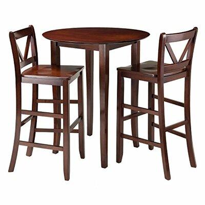 Fiona 3 Piece Pub Table Set