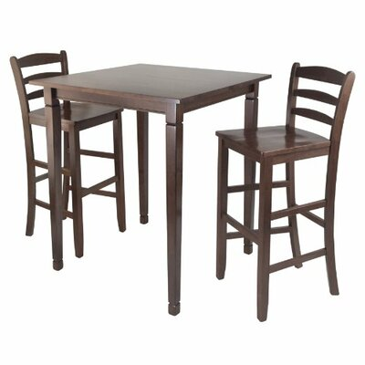 Kingsgate 3 Piece Pub Table Set