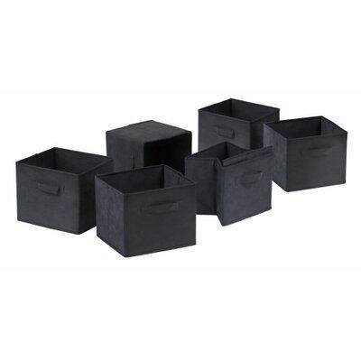 Capri Fabric Foldable Basket 22611-WW