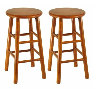 24 Bar Stool Finish: Cherry