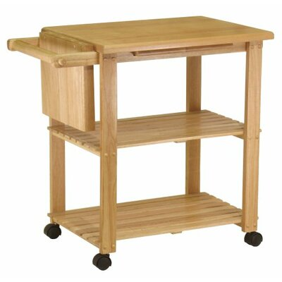 Kitchen Cart with Cutting Board