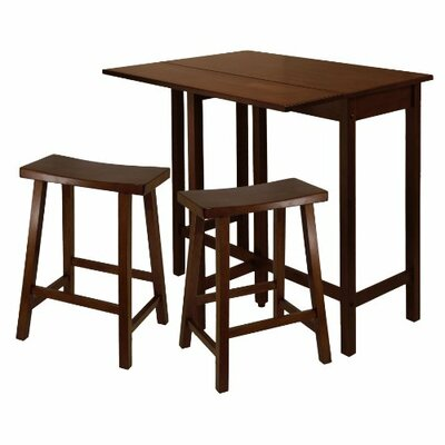 Lynnwood 3 Piece Counter Height Dining Set