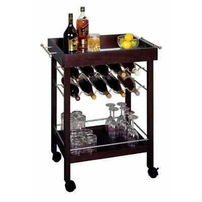 Bar 10 Bottle Floor Wine Rack