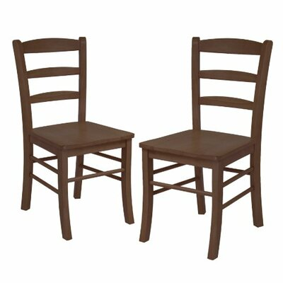 Solid Wood Dining Chair Finish: Antique Walnut