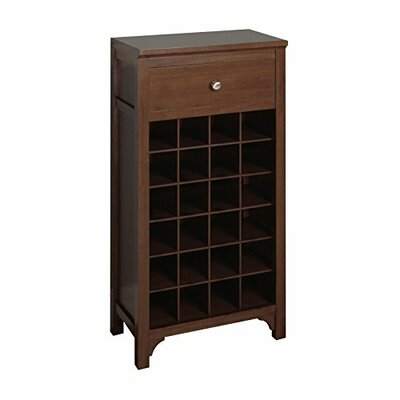 24 Bottle Floor Wine Cabinet