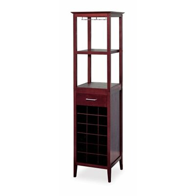Tower 18 Bottle Floor Wine Cabinet
