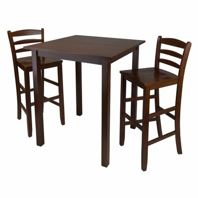 Parkland 3 Piece Counter Height Dining Set