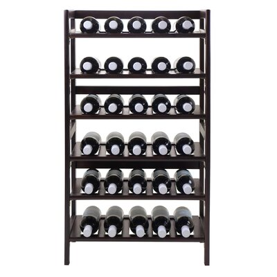 Silvi 30 Bottle Floor Wine Rack