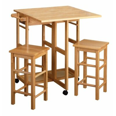 3 Piece Coutner Height Dining Set