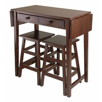Mercer 3 Piece Counter Height Dining Set