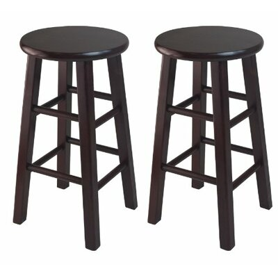 24 Bar Stool Finish: Espresso
