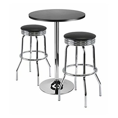 Summit 3 Piece Pub Table Set