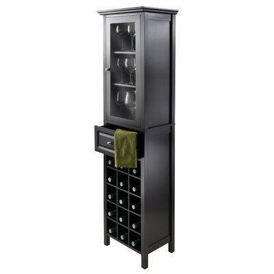 15 Bottle Floor Wine Cabinet