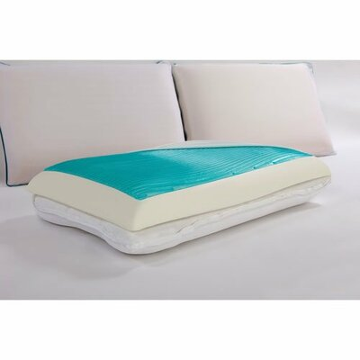 Reversibles Memory Foam Pillow Size: Queen
