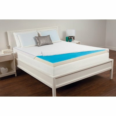 Senogel Memory Foam Topper Size: Cal-King