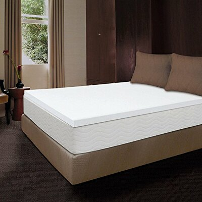 3 Memory Foam Mattress Topper Size: Cal-King