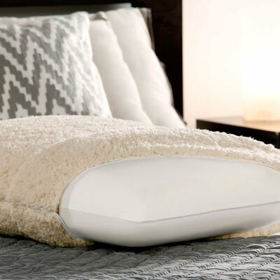 Sherpa & Luxury Bed Memory Foam Standard Pillow