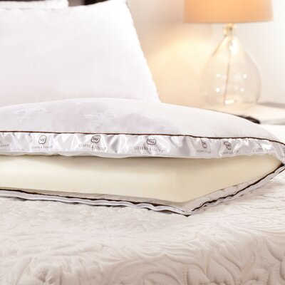 Deluxe Plush Memory Foam and Down Pillow Size: Standard