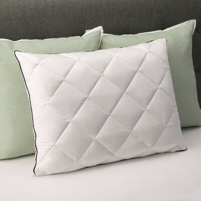 Plush Quilted Bed Memory Foam Standard Pillow