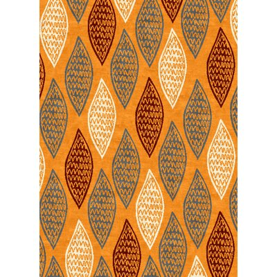 Tripoli Orange Area Rug