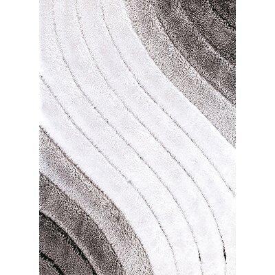 Tria Gray/Ecru Area Rug Rug Size: 8 x 11