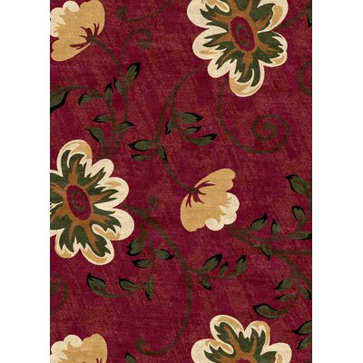 Ethnic Red Area Rug Rug Size: 5 x 8