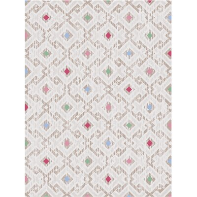 Melody Cream Area Rug Rug Size: 5 x 8