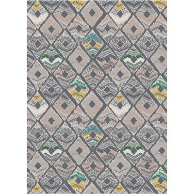 Melody Gray Area Rug Rug Size: Runner 3 x 8