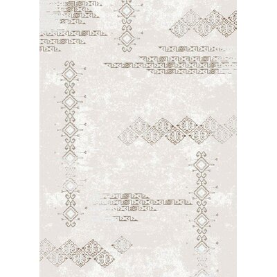 Cream Area Rug Rug Size: Runner 3 x 8