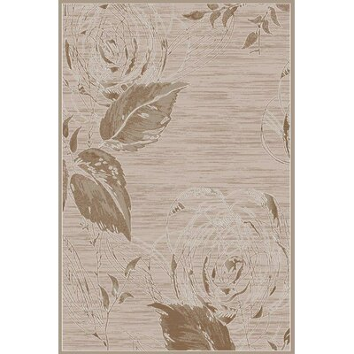 Brown Area Rug Rug Size: Runner 3 x 8
