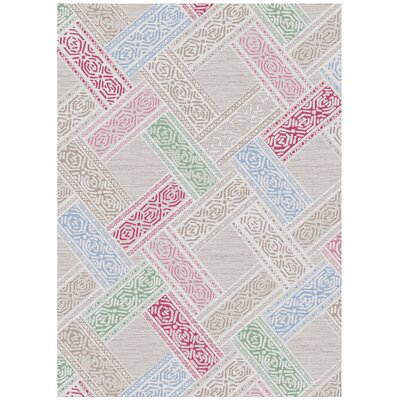 Melody Cream Area Rug Rug Size: 8 x 11