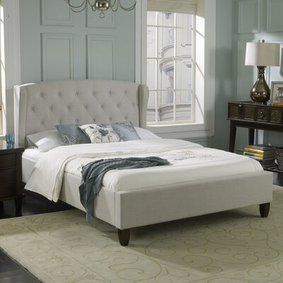 Brooklyn Upholstered Platform Bed Size: Full LH3A4509DB