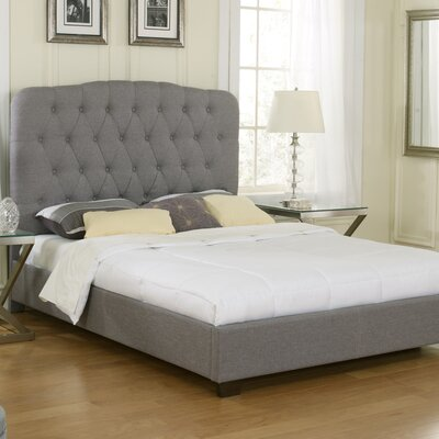 Aubree Upholstered Platform Bed Size: Queen