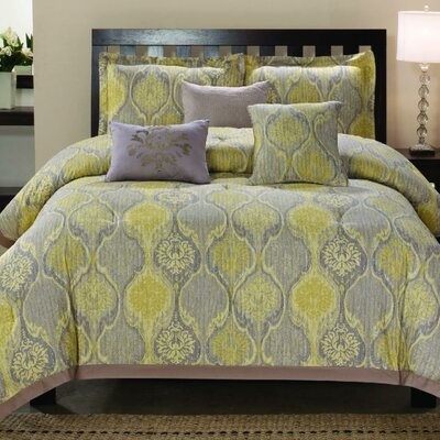 Venetian 6 Piece Comforter Set Size: Queen