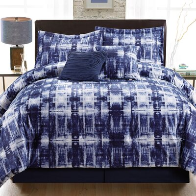 Rafael 6 Piece Comforter Set Size: King