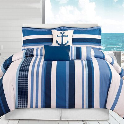 Celeste 6 Piece Comforter Set Size: Twin