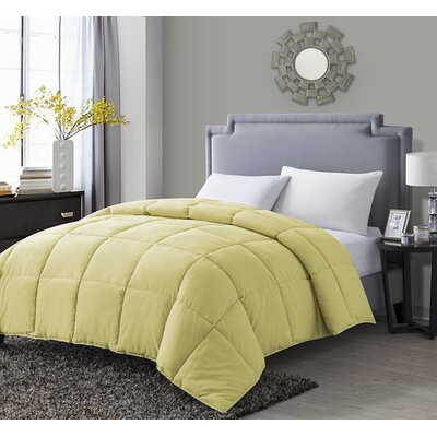 Paradise Comforter Size: King, Color: Yellow / Blue