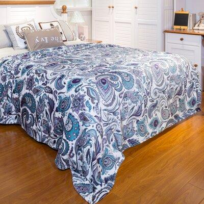 Paisley Blanket Size: Twin