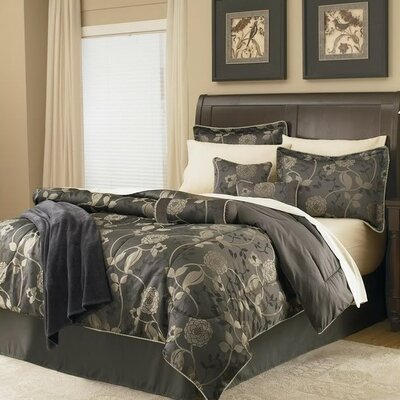 Full Size  on Fairford Jacquard Bed In A Bag Set In Gold And Black Size  Queen