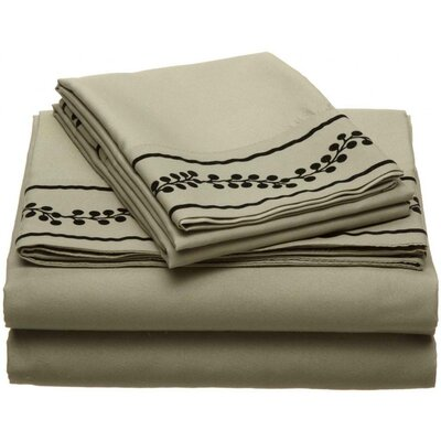 Ruby Microfiber Sheet Set Size: Queen, Color: Sage