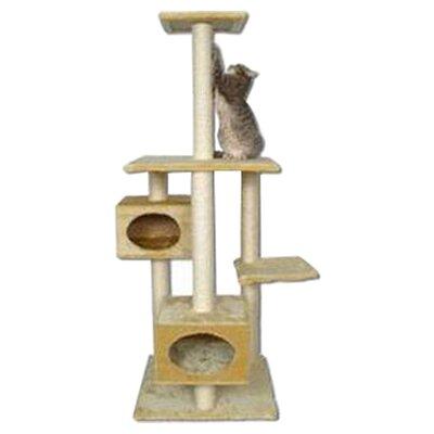 66 Manhattan Cat Tree Color: Beige
