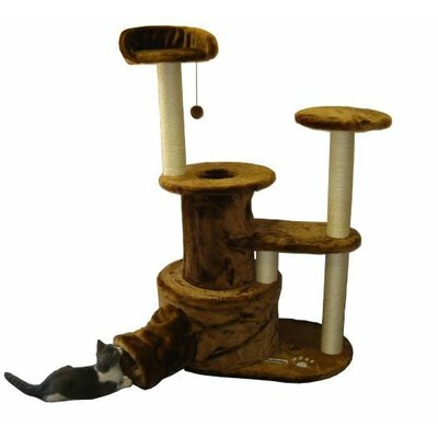 50 Tucson Cat Tree Color: Brown