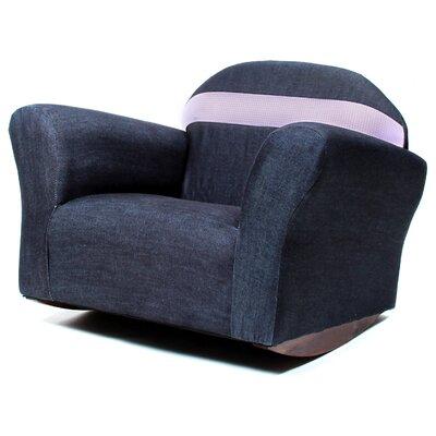 Keet Bubble Children's Chair Color: Denim - Pink