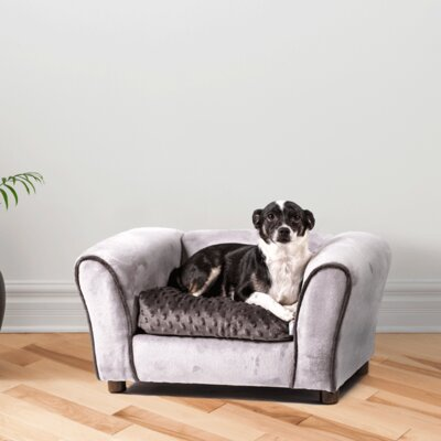 Pablo Dog Sofa Size: Small (23 L x 17 W)