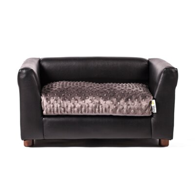 Ozzie Dog Sofa Size: Small (23 L x 17 W)