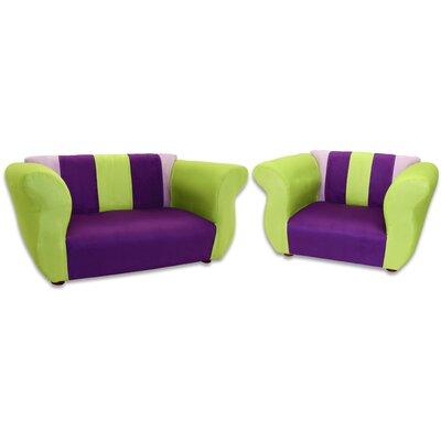 Espere 2 Piece Kids Sofa and Chair Set ZMIE5488 42673475
