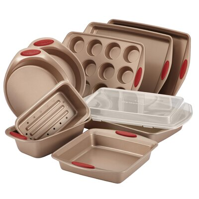 Rachael Ray Cucina 10 Piece Nonstick Bakeware Set 52410